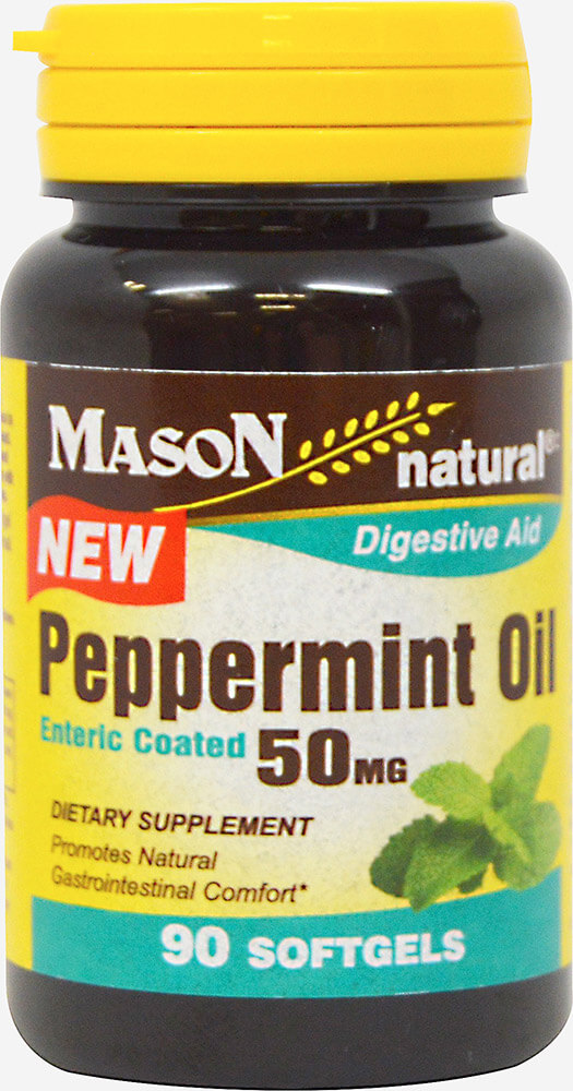 Peppermint Oil 50 mg