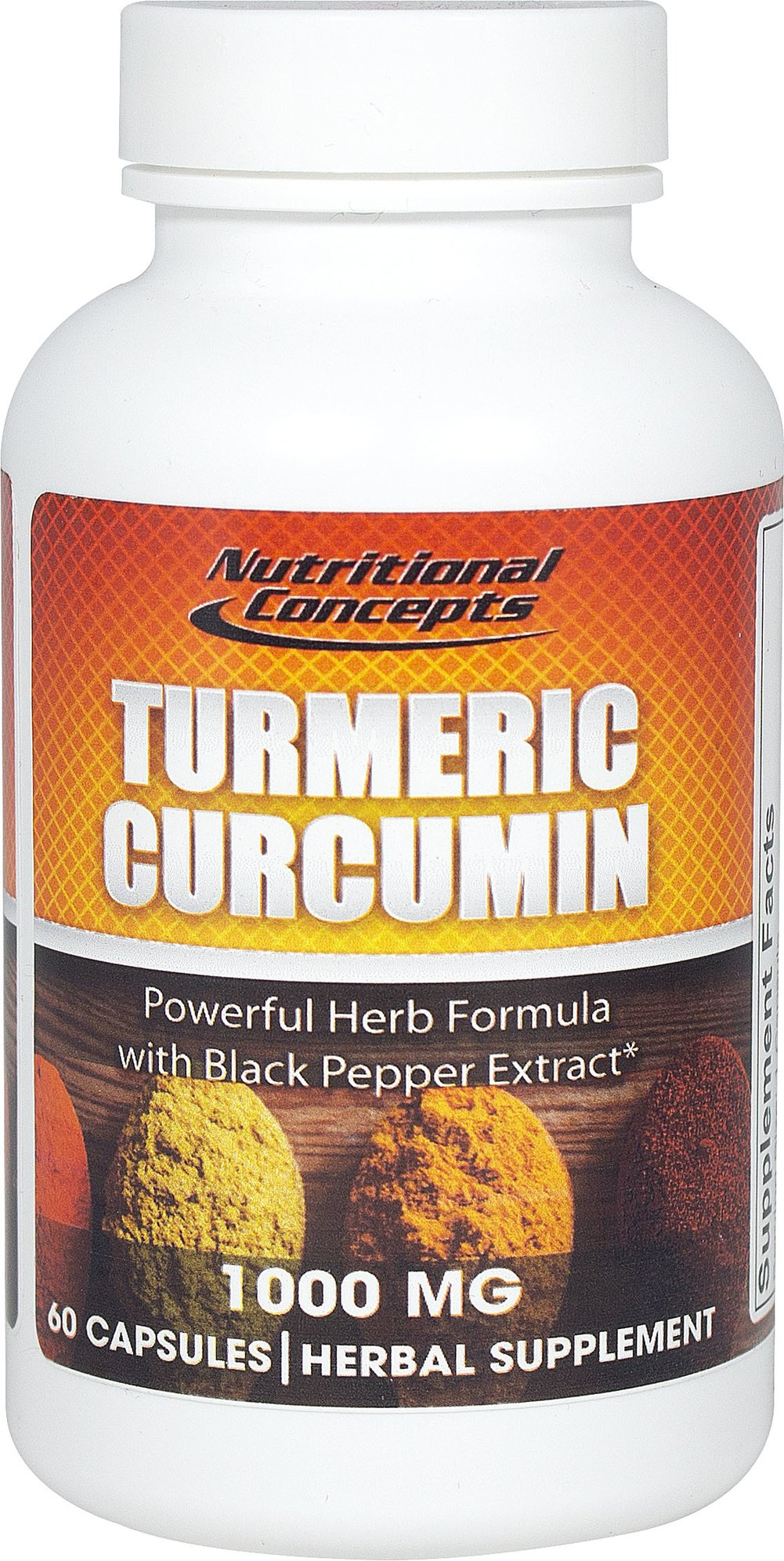 Turmeric Curcumin 1000mg Thumbnail Alternate Bottle View