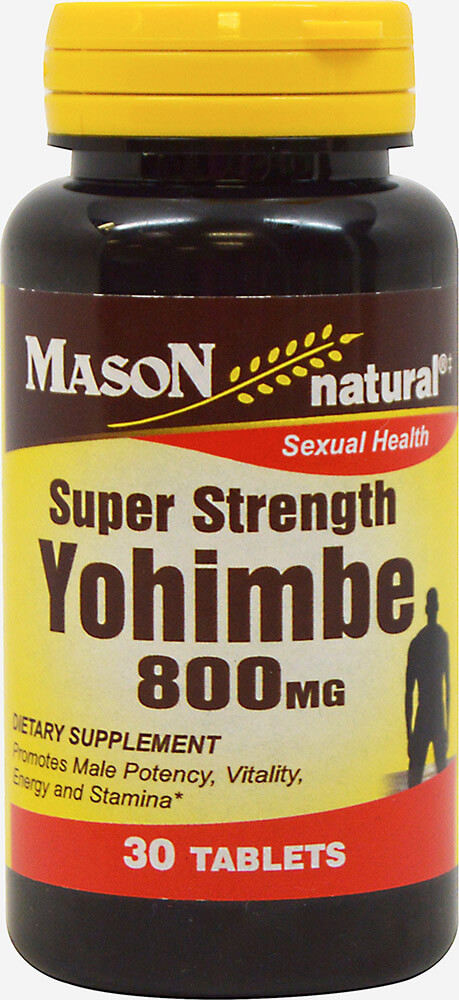 Super Strength Yohimbe 800mg