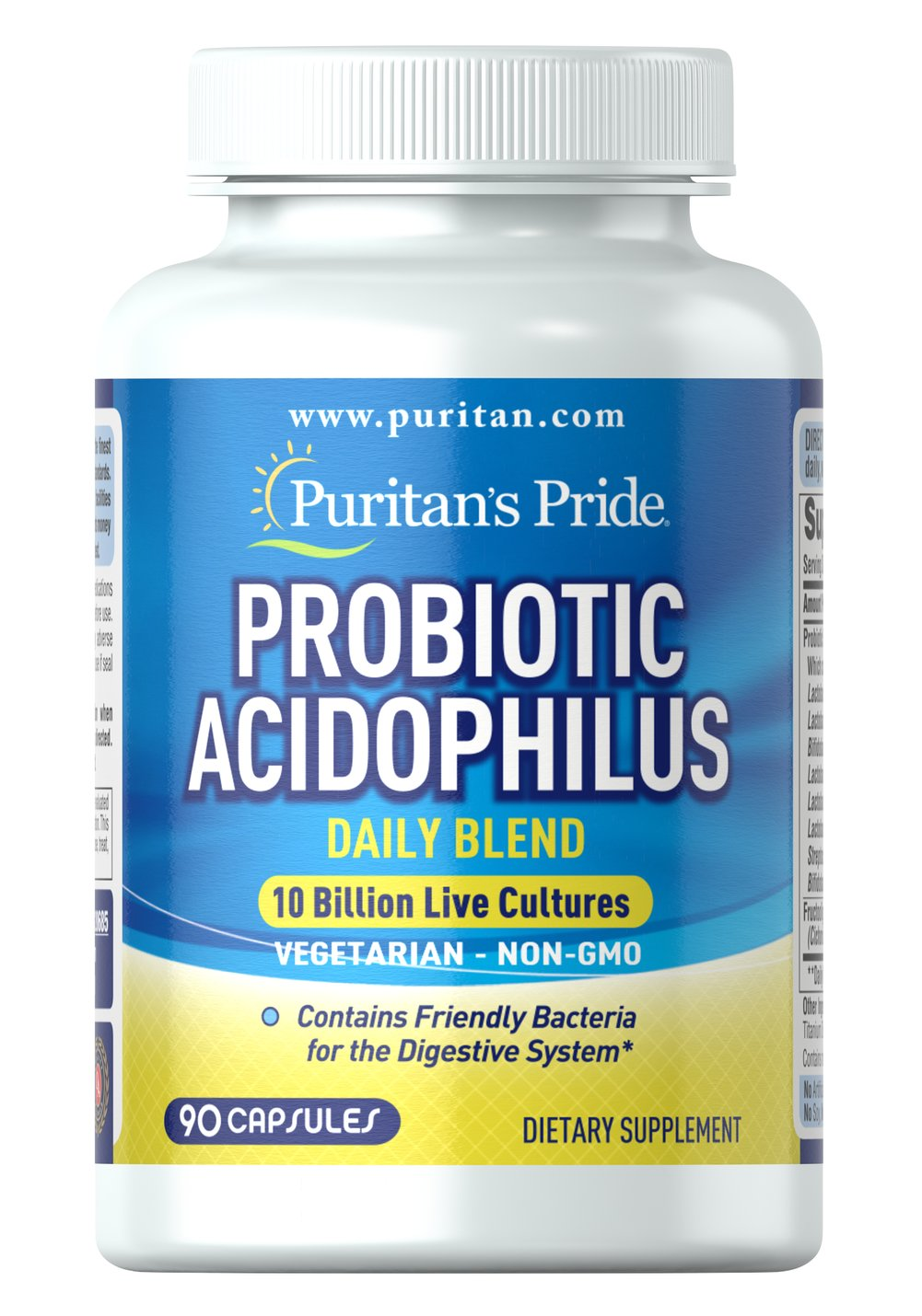 Probiotic Acidophilus Daily Blend Thumbnail Alternate Bottle View
