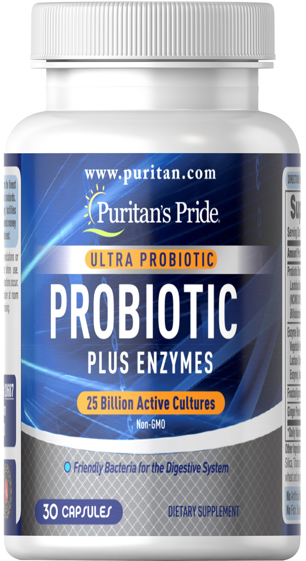 Ultra Probiotic PLUS Enzymes 25 Billion Active Cultures