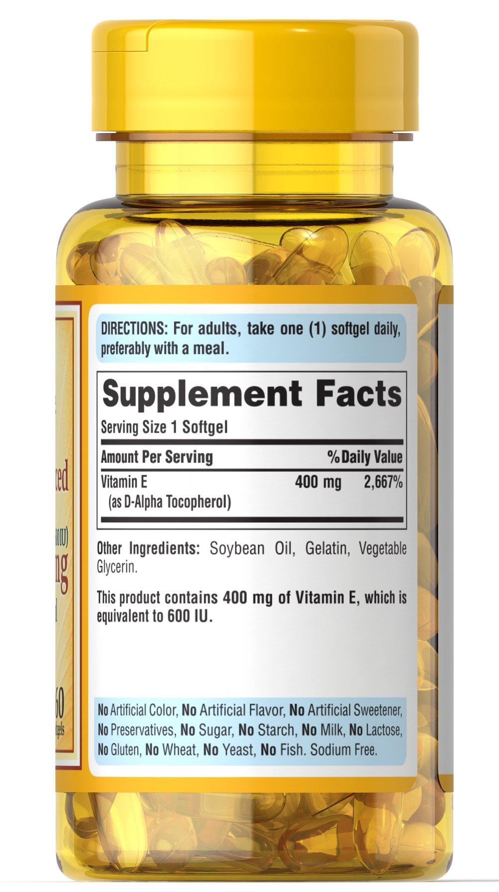 Vitamin E 400 MG (600 IU)