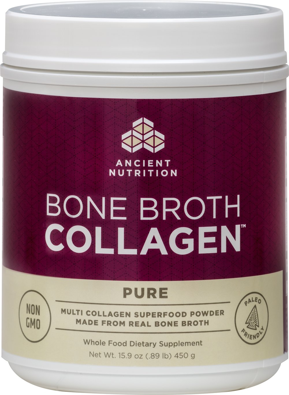 Bone Broth Collagen Pure Thumbnail Alternate Bottle View