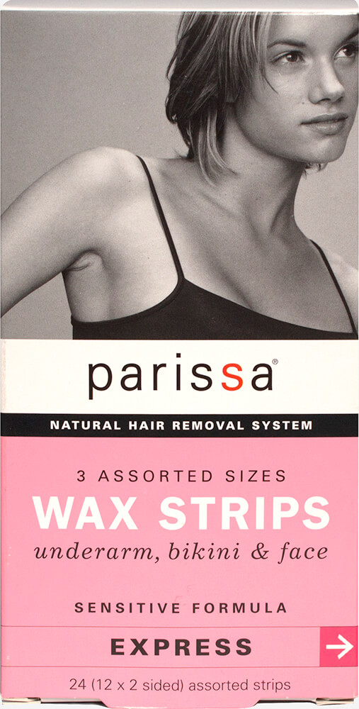 Wax Hair Removal Strips 3 Assorted Sizes
