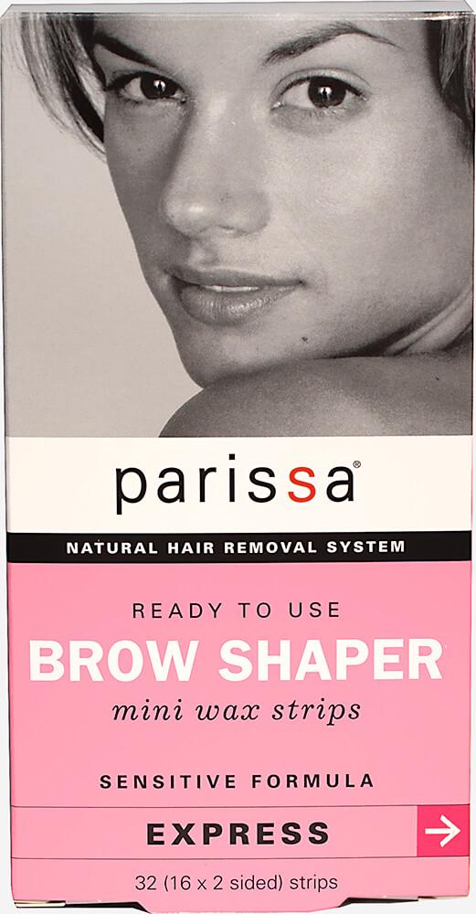 Parissa Brow Shaper Mini Wax Strips-32 Count Box 020791