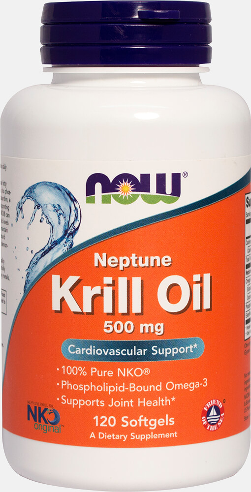 Neptune Krill 500 mg Thumbnail Alternate Bottle View