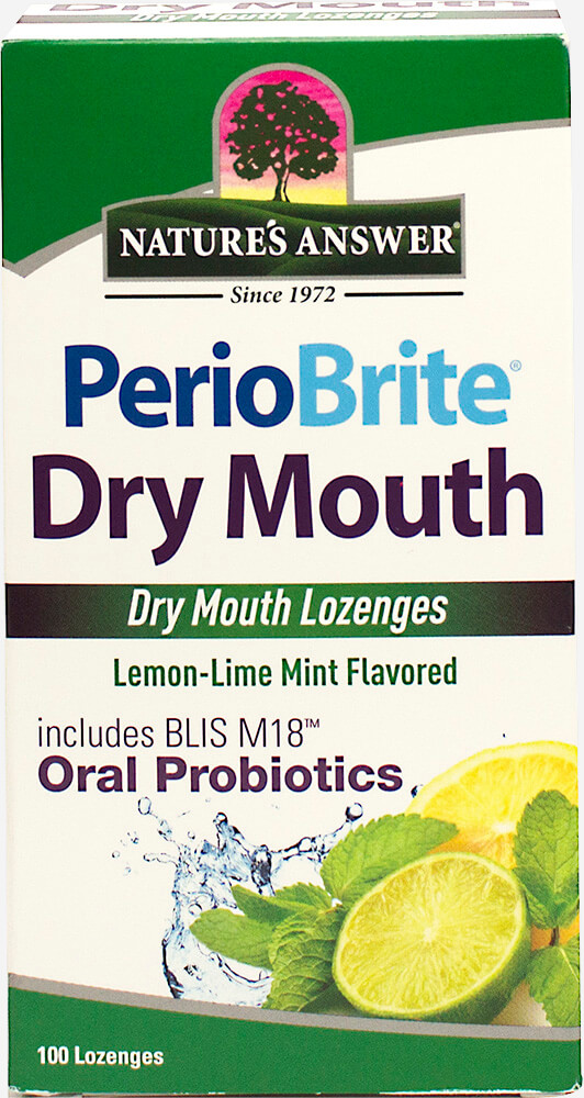Perio Brite Dry Mouth Lozenges