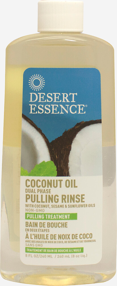Dental Amp Oral Care Coconut Oil Dual Phase Pulling Rinse