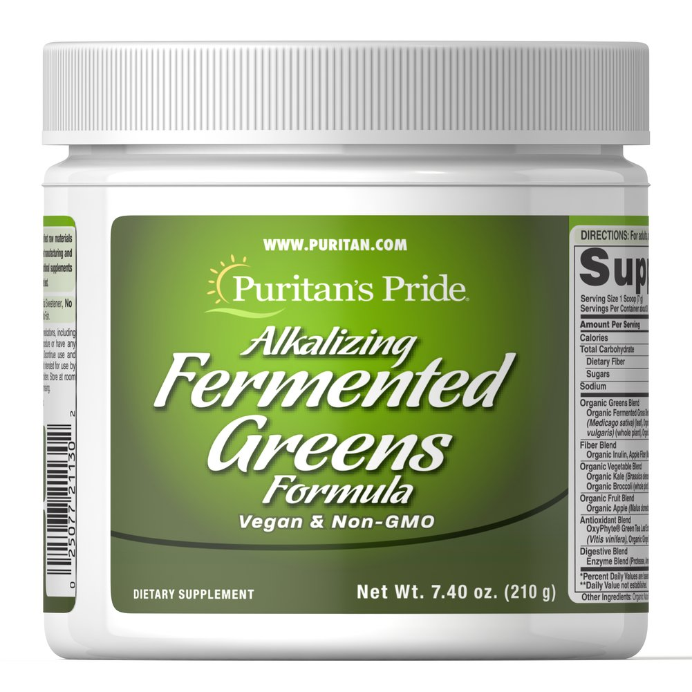Alkalizing Fermented Greens