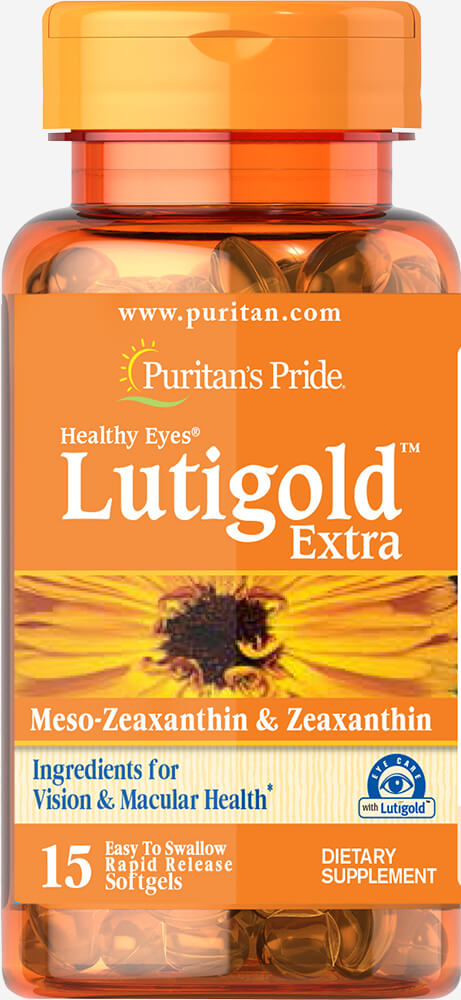 Healthy Eyes® Lutigold™ Extra with Zeaxanthin Trial Size