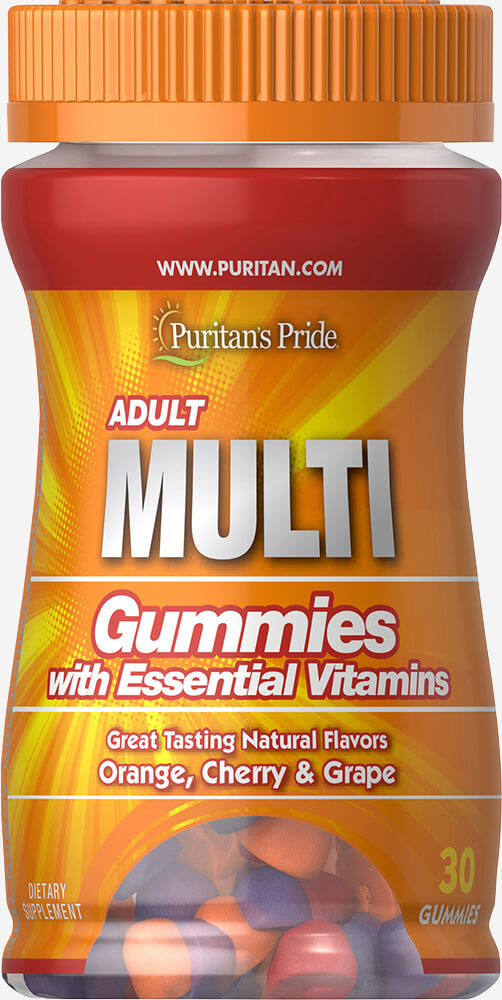 Adult Multivitamin Gummy Trial Size Thumbnail Alternate Bottle View