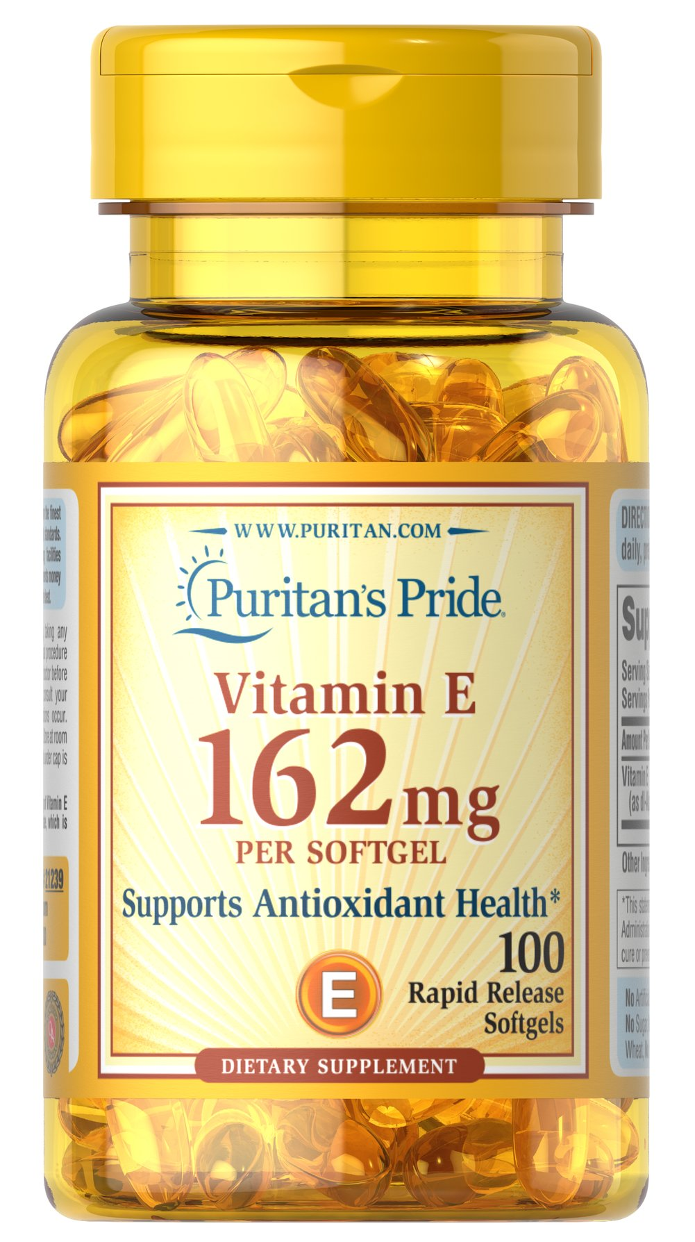 Vitamin E Synthetic dl-Alpha