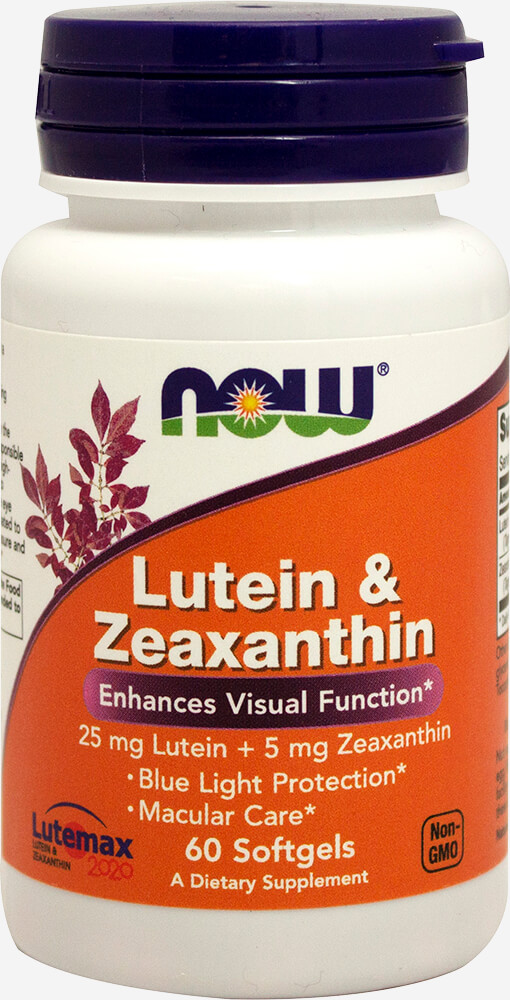 Lutein 25mg & Zeaxanthin 5mg Thumbnail Alternate Bottle View