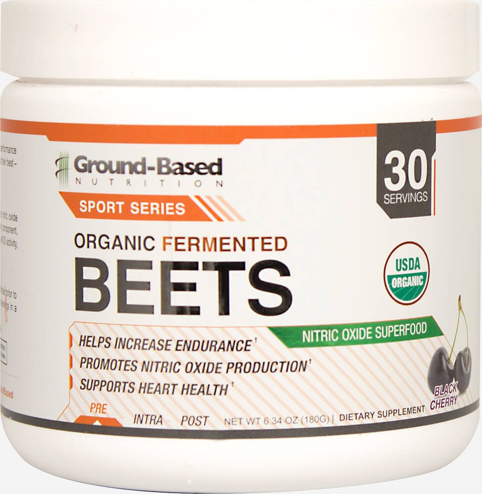 Organic Fermented Beets Thumbnail Alternate Bottle View