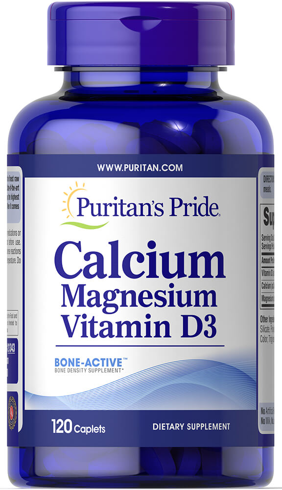 Calcium Magnesium Vitamin D3 Thumbnail Alternate Bottle View
