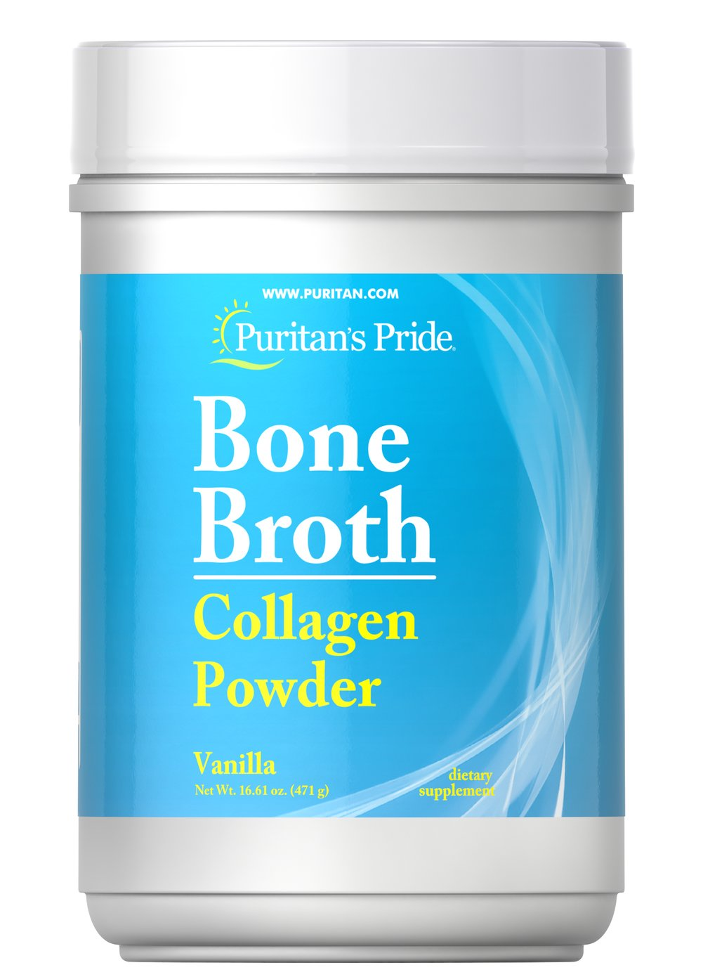 Bone Broth Collagen Vanilla Powder