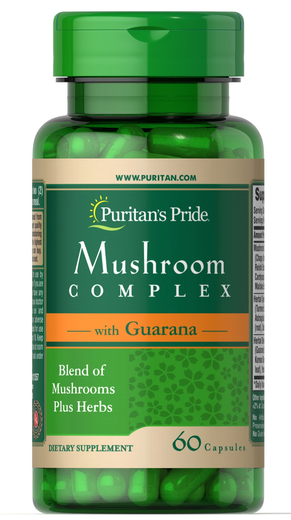 Mushroom Herbal Complex with Guarana