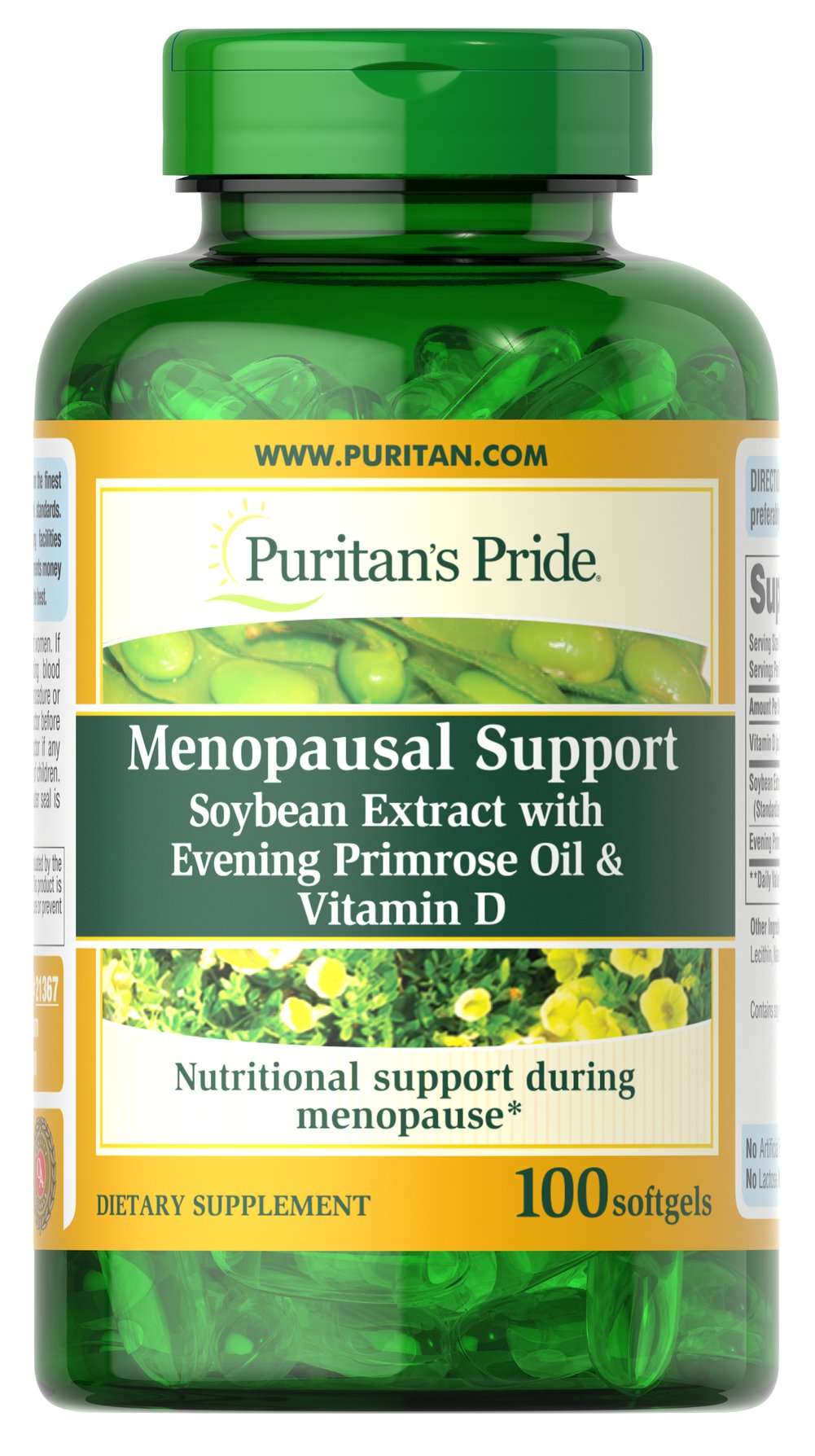 Menopausal Support Thumbnail Alternate Bottle View