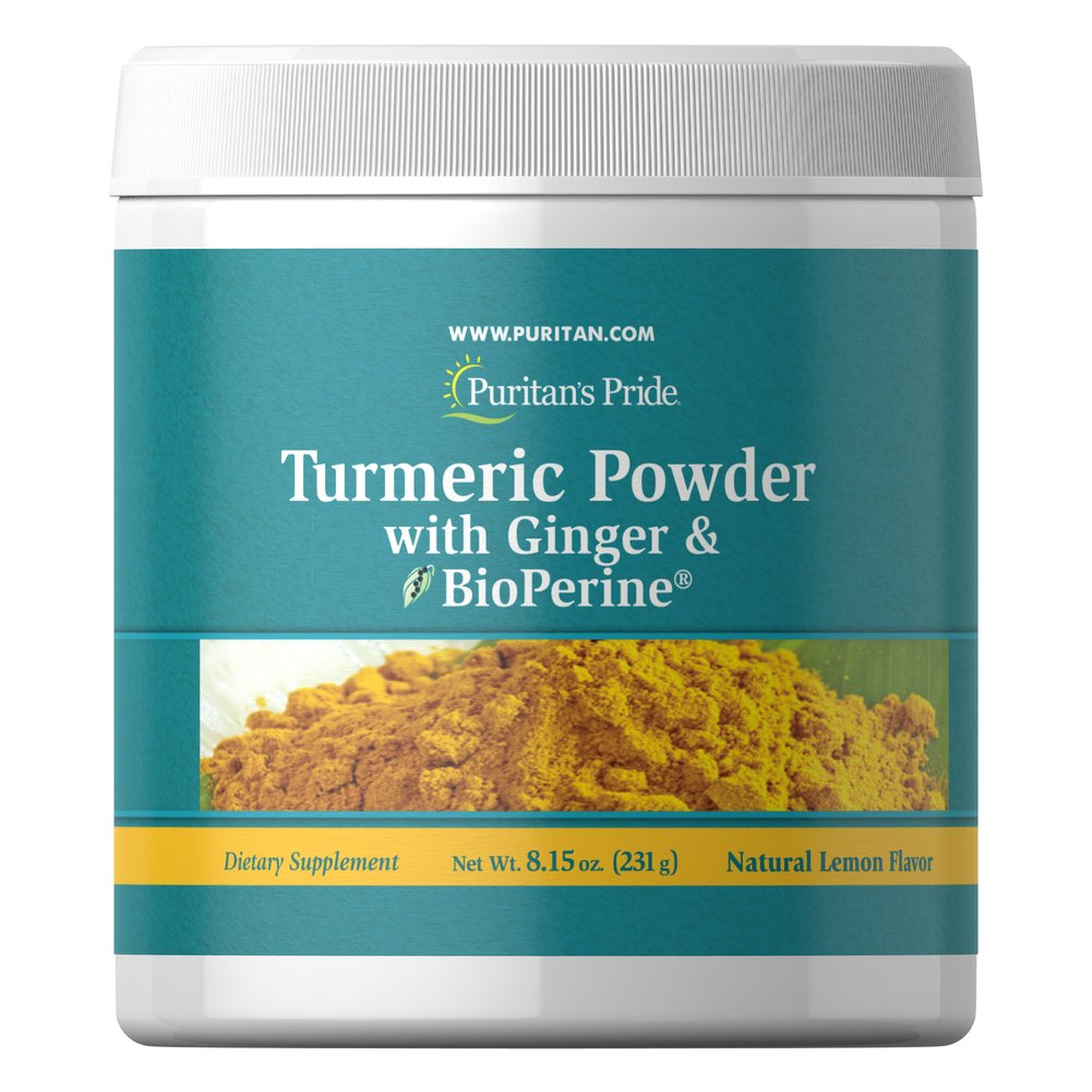 Turmeric Powder with Ginger & BioPerine®