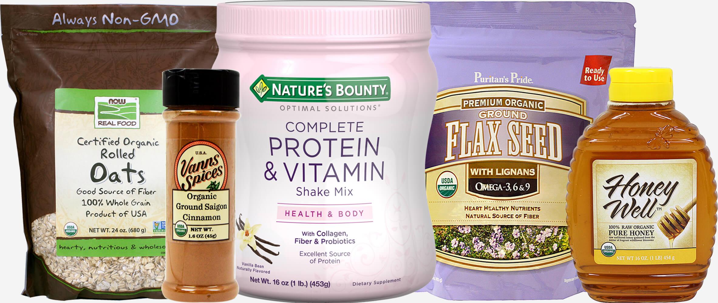 Kit Smoothie Ingredients Vanilla Bundle-5 Pack 021376