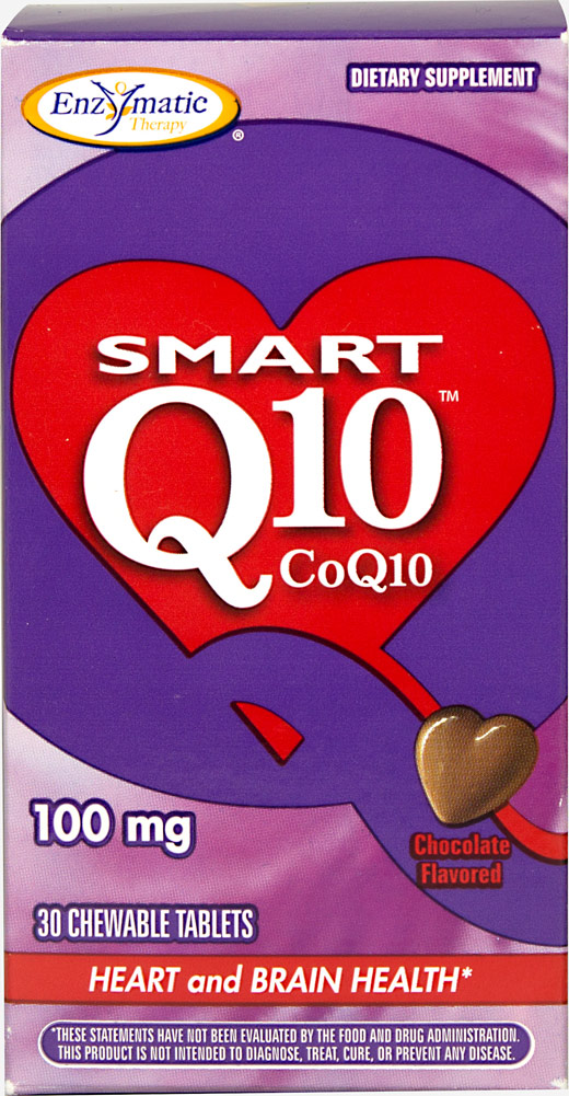 Smart Q10™ CoQ10 Thumbnail Alternate Bottle View