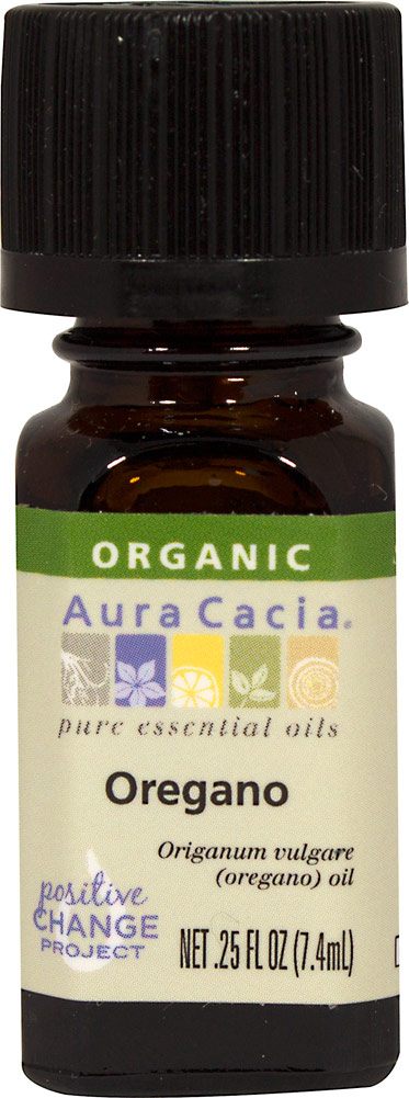 Organic Oregano Essential Oil Thumbnail Alternate Bottle View