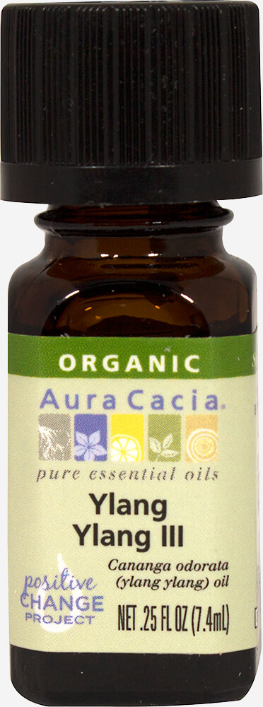 Organic Ylang Ylang Essential oil Thumbnail Alternate Bottle View