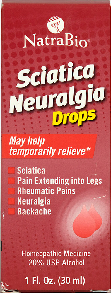 Sciatica Neuralogia Thumbnail Alternate Bottle View