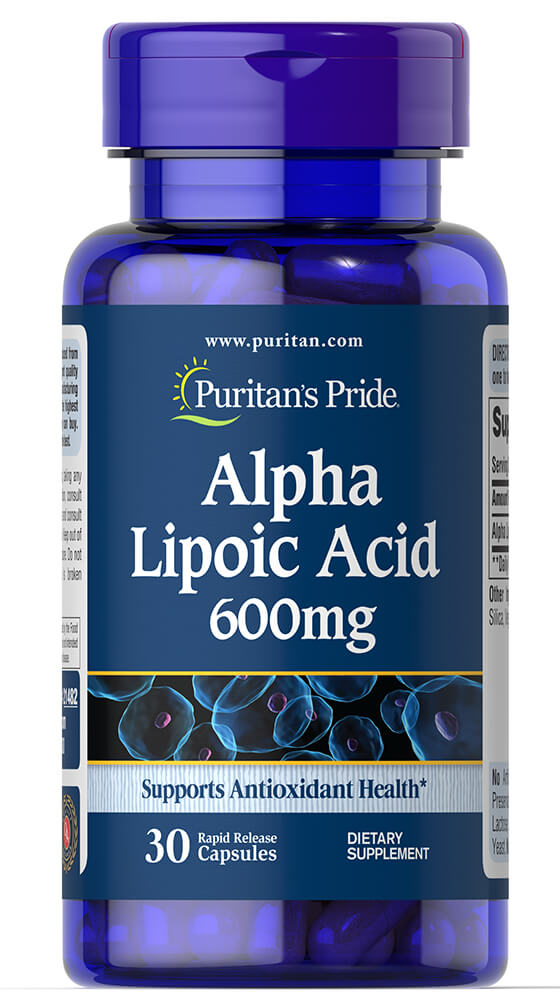 Alpha Lipoic Acid 600mg Trial Size