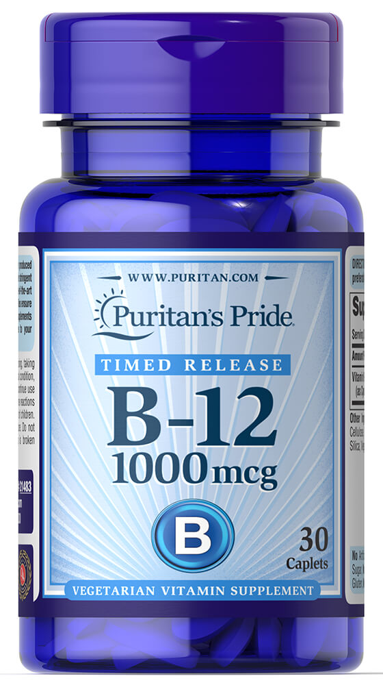 Vitamin B12 Trial Size Thumbnail Alternate Bottle View