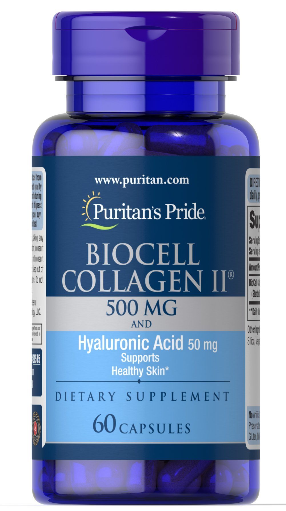 Biocell Collagen II 500 mg and Hyaluronic Acid 50mg