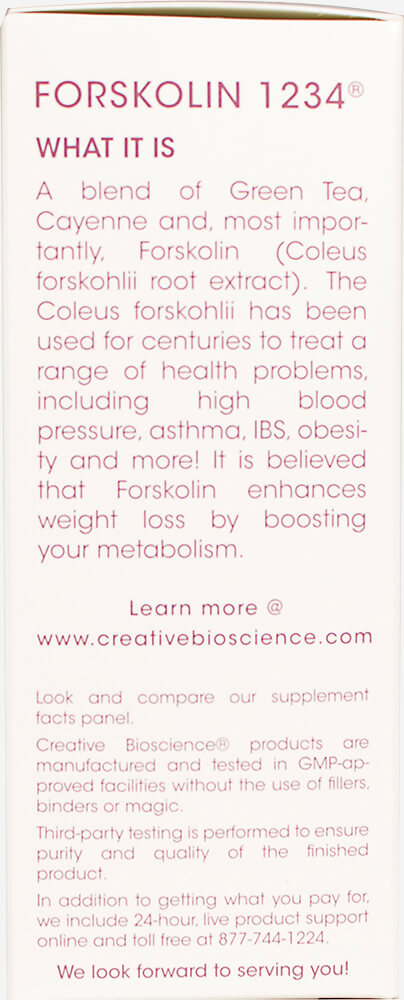 Forskolin 250 mg 1234