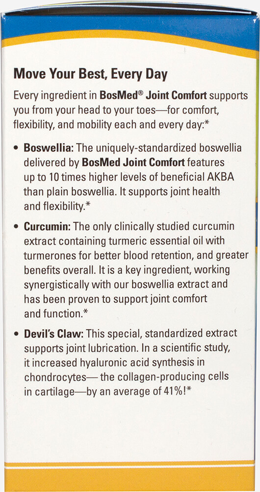 BosMed® Joint Comfort** with Boswellia