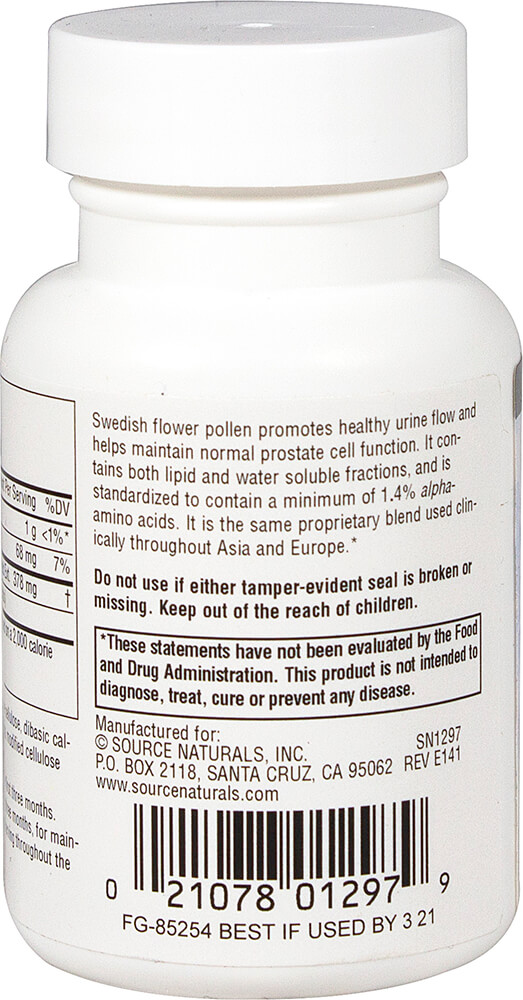 Swedish Flower Pollen Thumbnail Alternate Bottle View