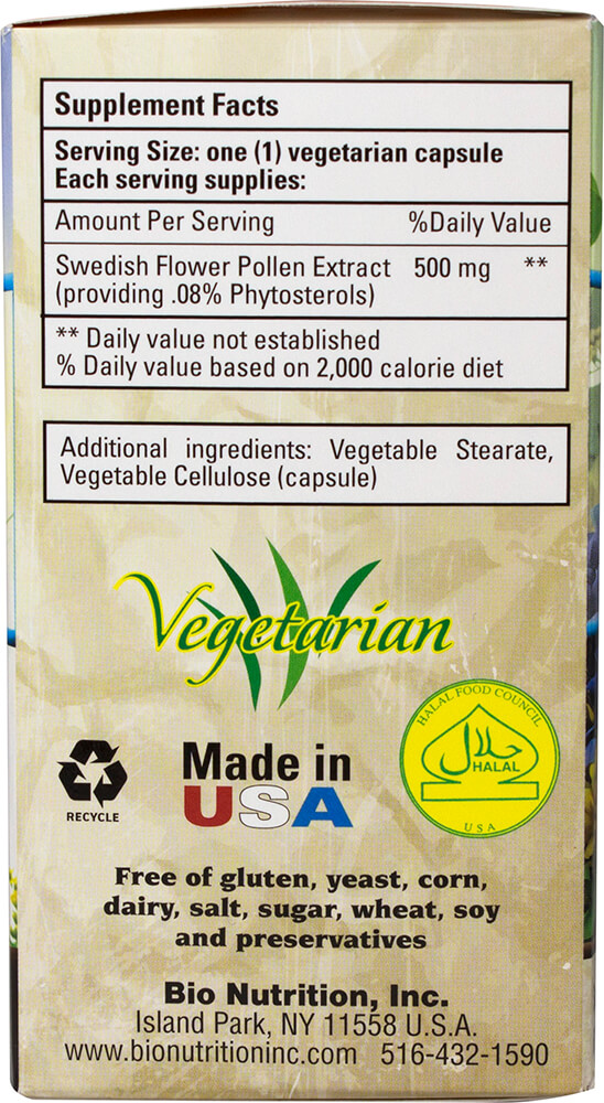 Swedish Flower Pollen Extract