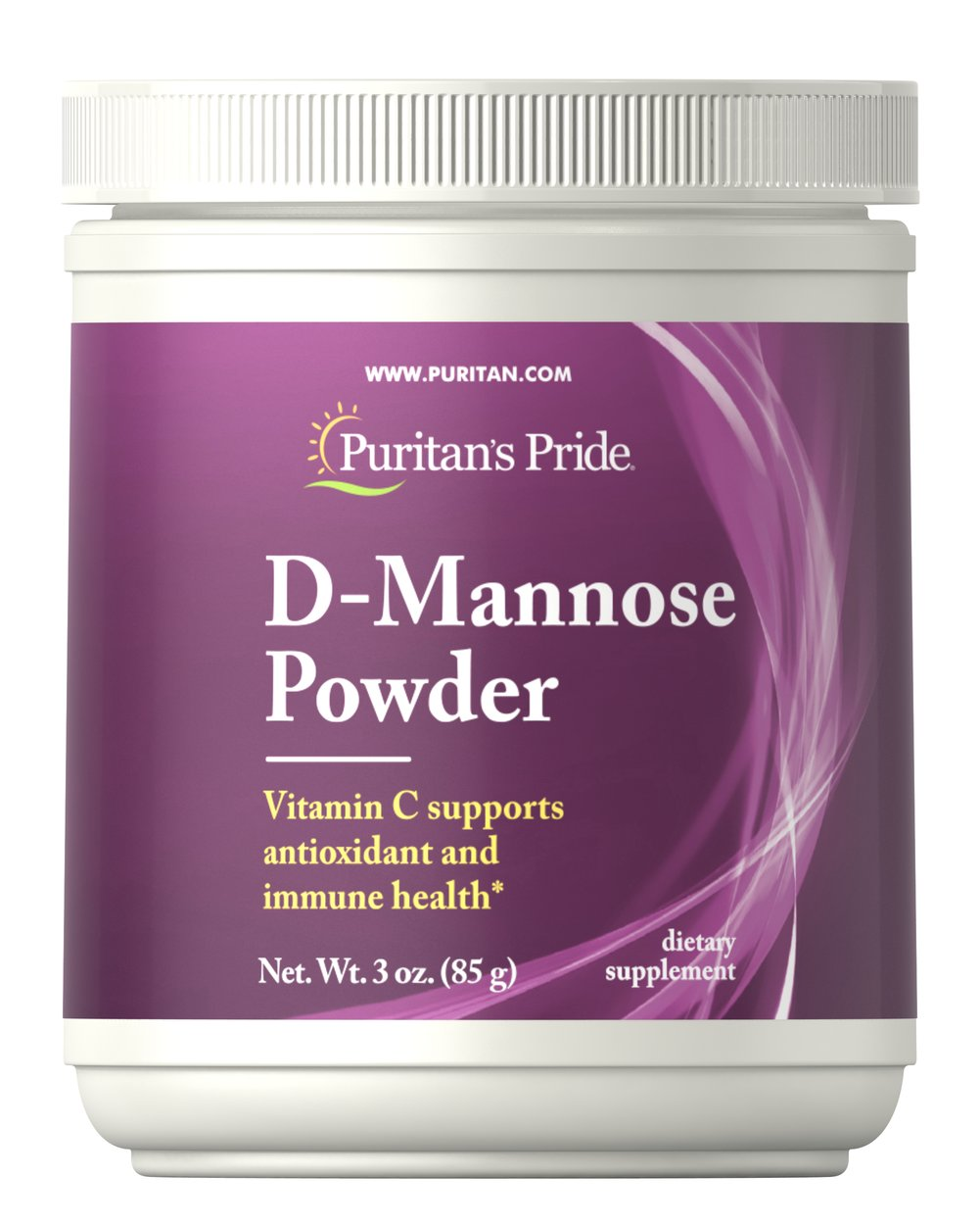 D-Mannose Powder Thumbnail Alternate Bottle View