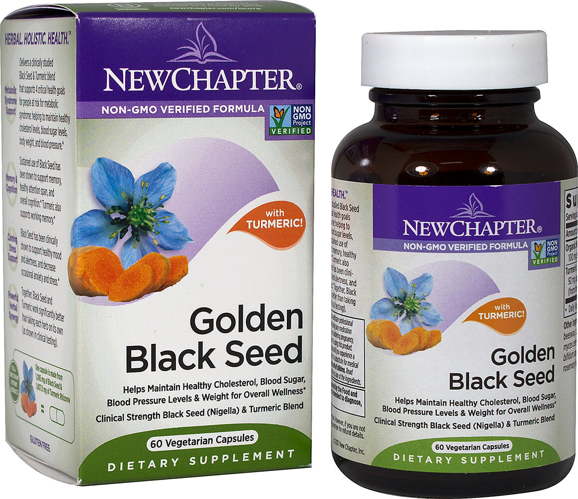 Golden Black Seed with Turmeric