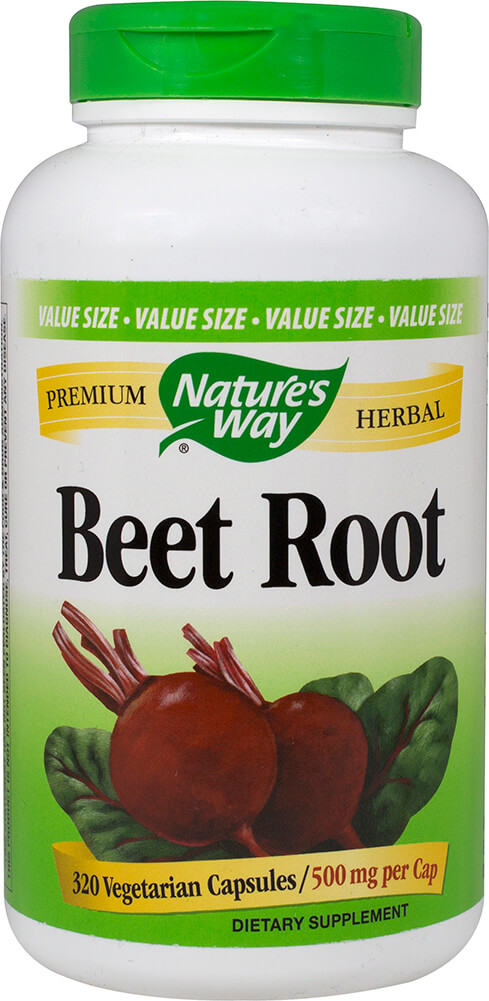 Beet Root 500 mg Thumbnail Alternate Bottle View