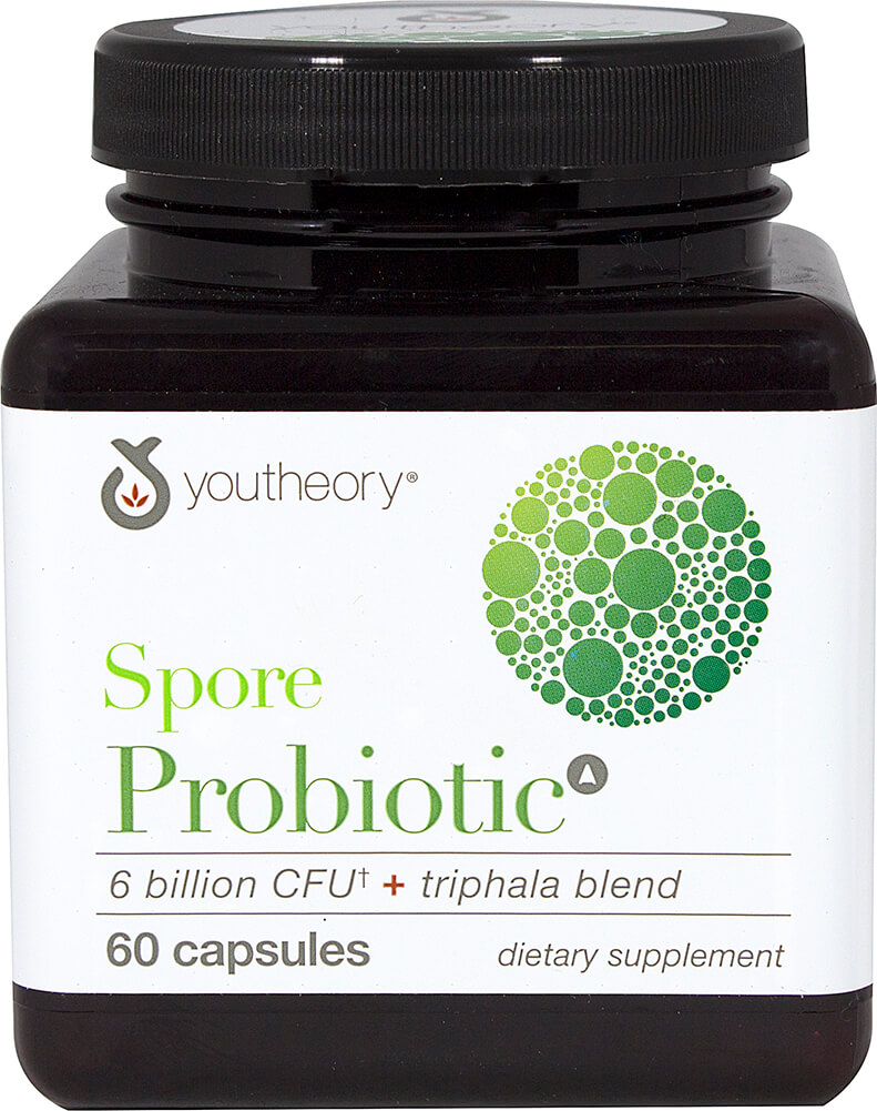 Spore Probiotic + Triphala Blend Thumbnail Alternate Bottle View