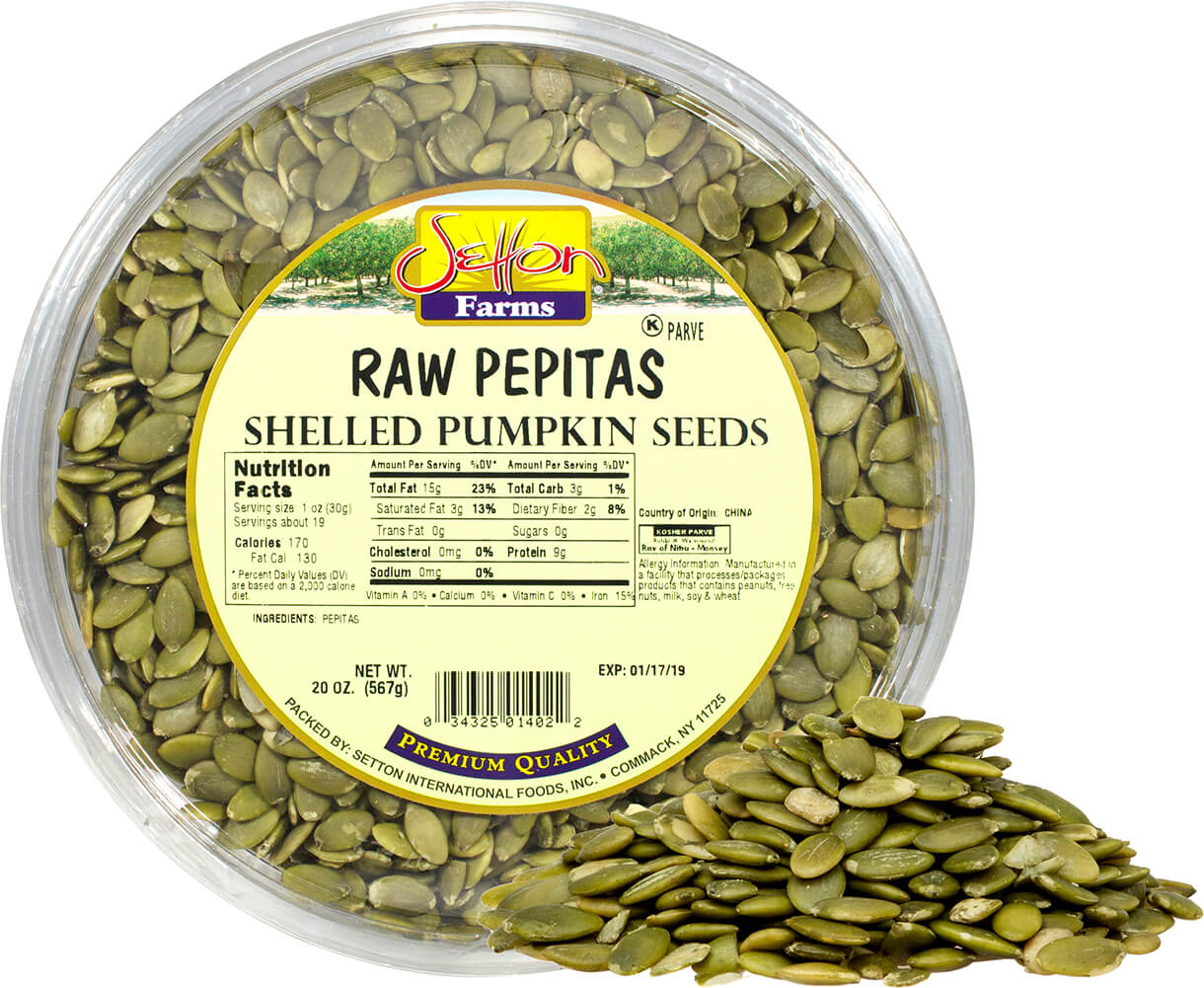 Raw Pepitas (Pumpkin Seeds)