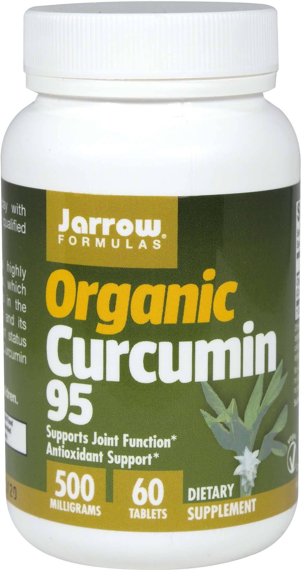 Organic Curcumin 95 500 mg Thumbnail Alternate Bottle View