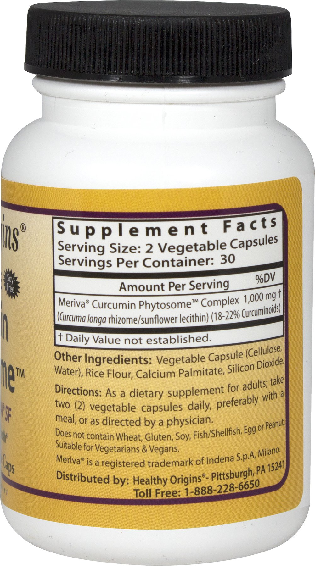 Curcumin Phytosome™ featuring Meriva® SF 500 mg