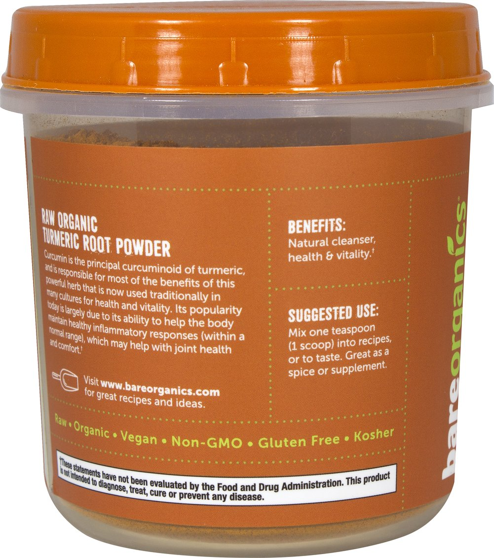 Raw Organic Turmeric Root Powder