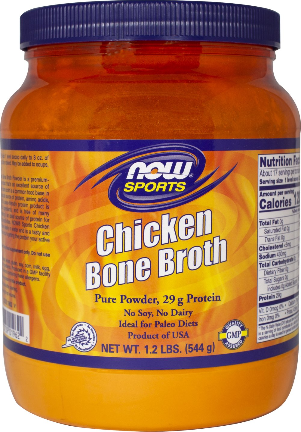Chicken Bone Broth Thumbnail Alternate Bottle View