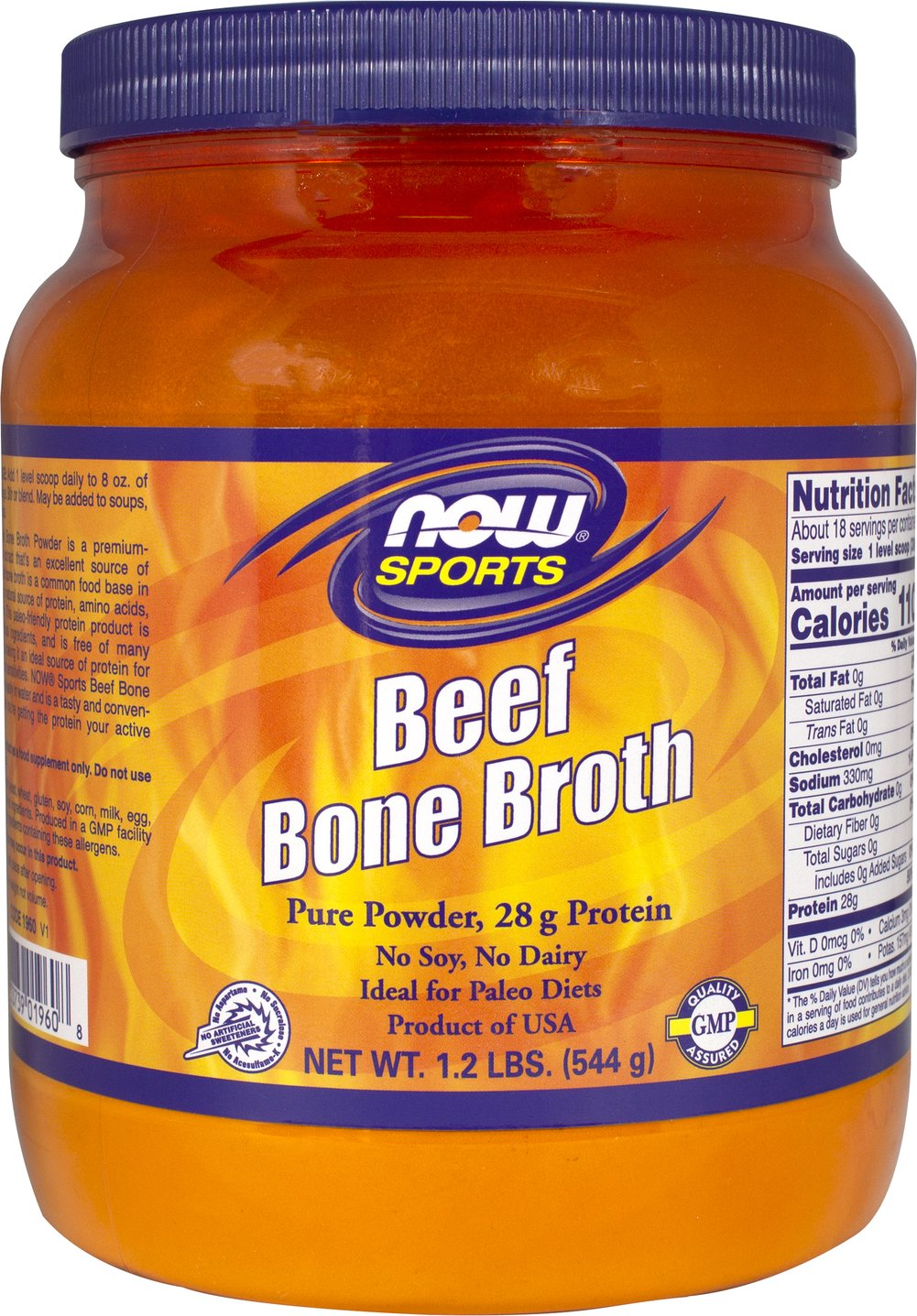 Beef Bone Broth Thumbnail Alternate Bottle View