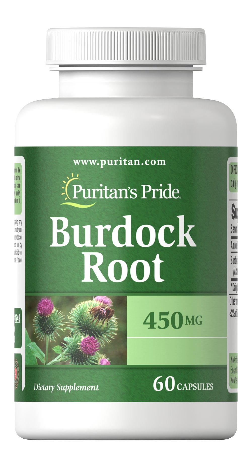 Burdock Root 450 mg