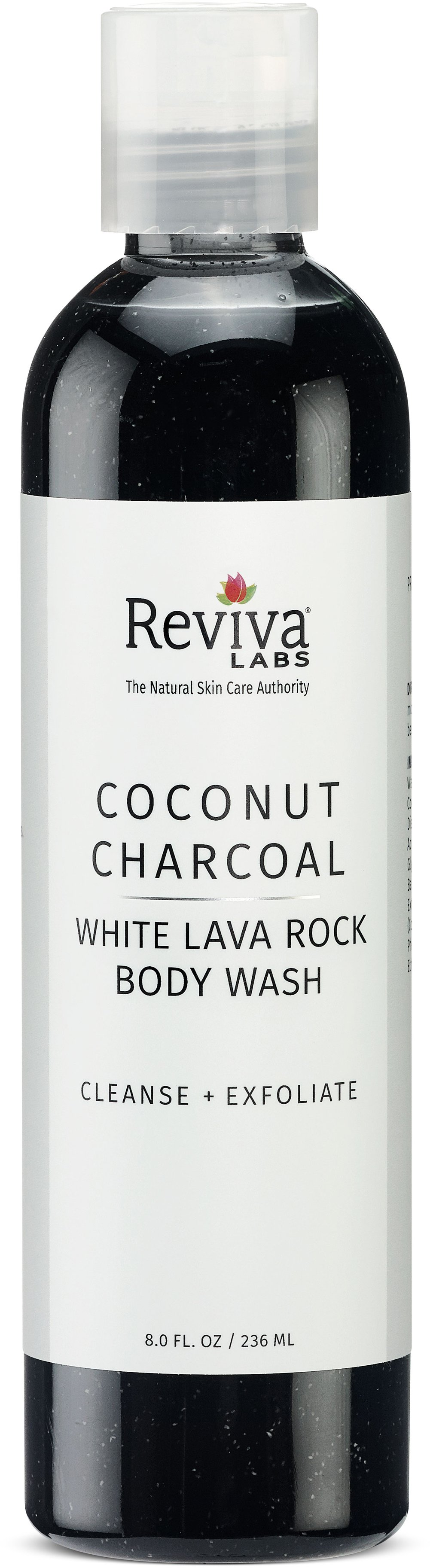 Coconut Charcoal and White Lava Body Wash