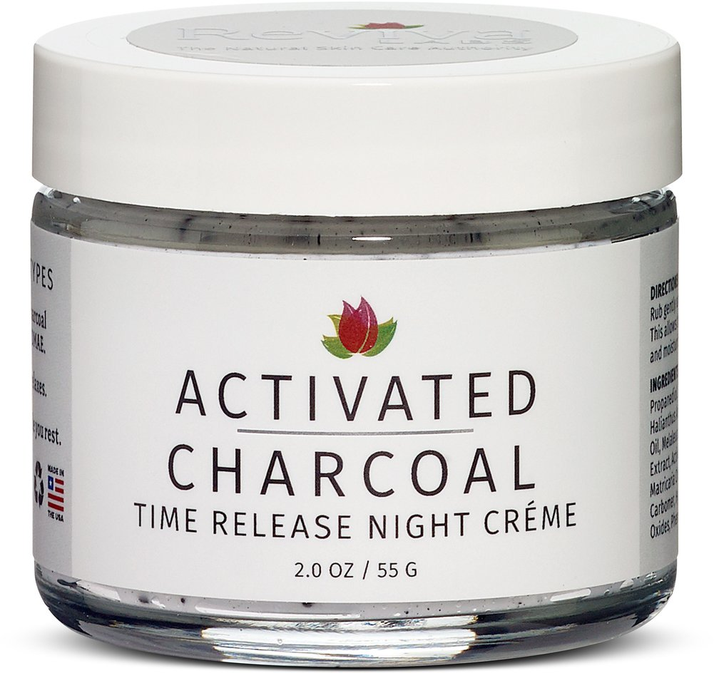 Activated Charcoal Time Release Night Creme