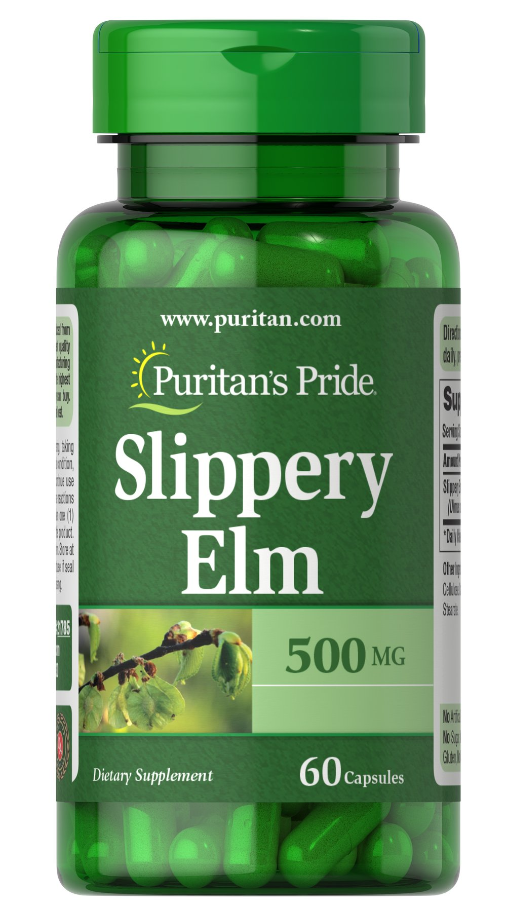 Slippery Elm 500mg