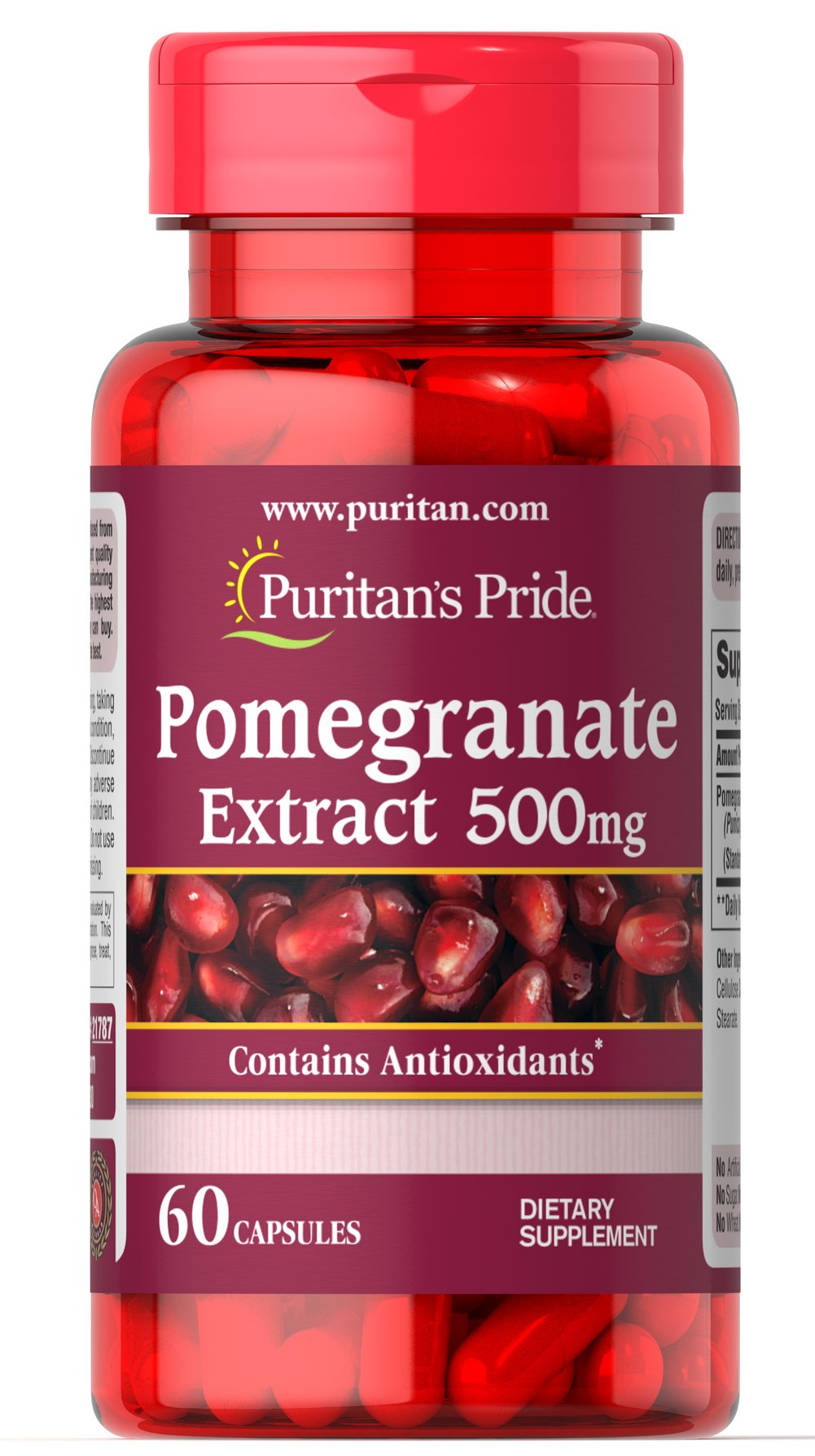 Pomegranate Extract 500mg